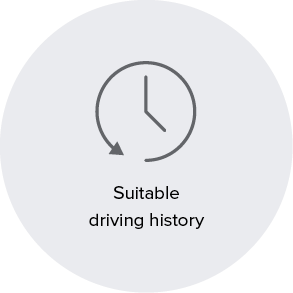 Suitable driving history