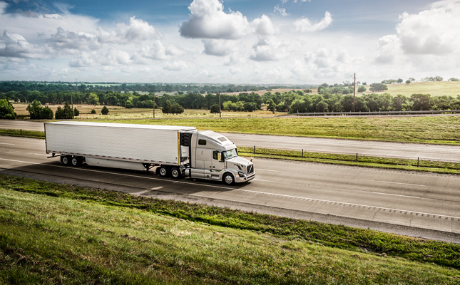 Volvo truck Midwest Express